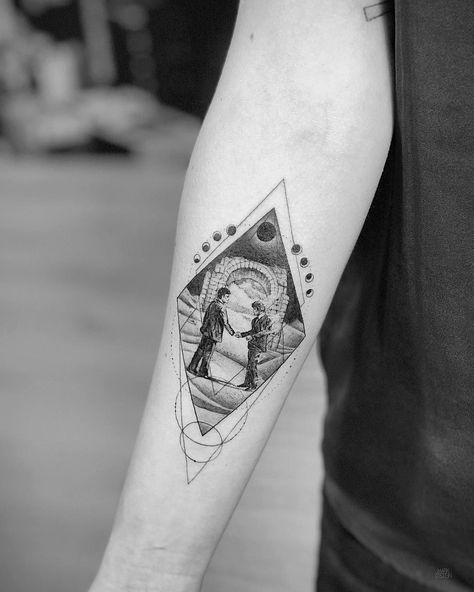 Geometric Tattoo idea