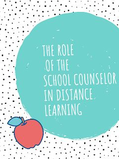Exploring School Counseling: The Role of the School Counselor in Distance Learning Role Of School Counselor, High School Counseling, Elementary Counseling, Counseling Activities, Counseling Office, Leadership Activities, Group Activities, Primary School Counselling, Virtual Counselor