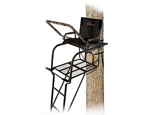 Big Game Treestands The Hunter Hd 1 5 Ladder Stand Big Game Ladder Stands Ladder
