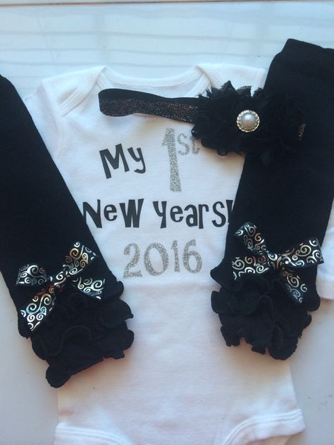 3ea322fb8 Baby girl 1st New years outfit my first new years by AboutASprout ...