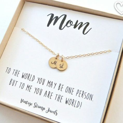 Gorgeous Initial Disc Necklace