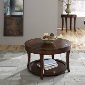 Madigan End Table 3 Piece Coffee Table Set Coffee Table Furniture Coffee Table Coffee table sets with storage