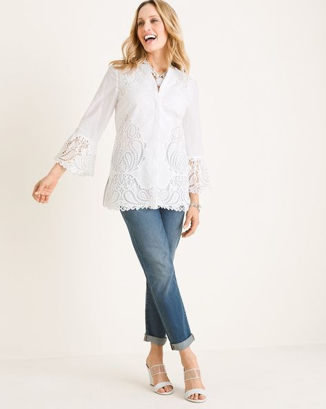 2563e1d1705 Alabaster Cutout-Detail Tunic in 2019   spring2019   Tunic, Tunic ...