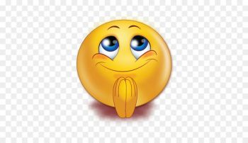 Smiley Praying Hands Emoticon Emoji Prayer Smiley Nohat Emoticon Emoji Praying Hands