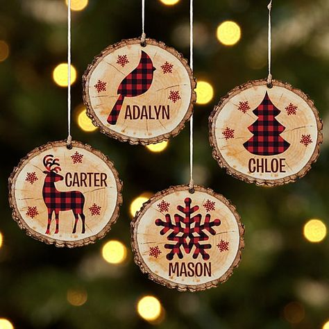 A Personal Creations Exclusive! Tartan is always tops at Christmastime! So add a fashionable twist to your tree with ornaments that are as unique as they are traditional.