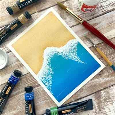 Watercolor Premium Artist Paint 12ml Tubes Set Of 60