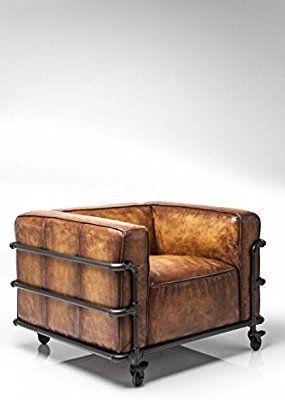 Fauteuil Vintage Quattro Kare Design Amazon Fr Cuisine Maison Fauteuil Vintage Design Chambre Industrielle Decoration Maison