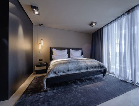 Hotel Whit Innovative Architecture and Design bedroom mountain relaxation