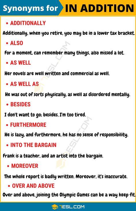 liste synonym