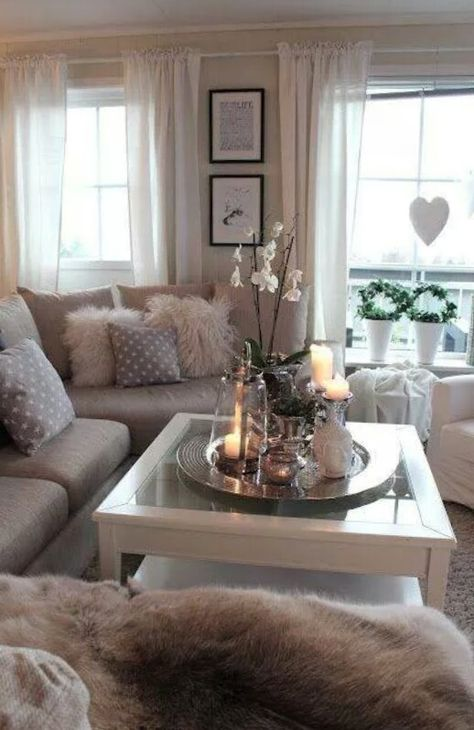 cozy living room home ideas Pinterest Cozy living rooms - dekoration für wohnzimmer