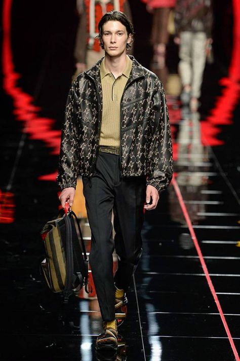Fendi Spring/Summer 2019 Menswear | British Vogue