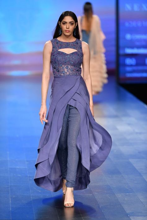 Karishma Deepa Sondhi at Lotus Make-Up India Fashion Week spring/summer 2019 - Fashion Style