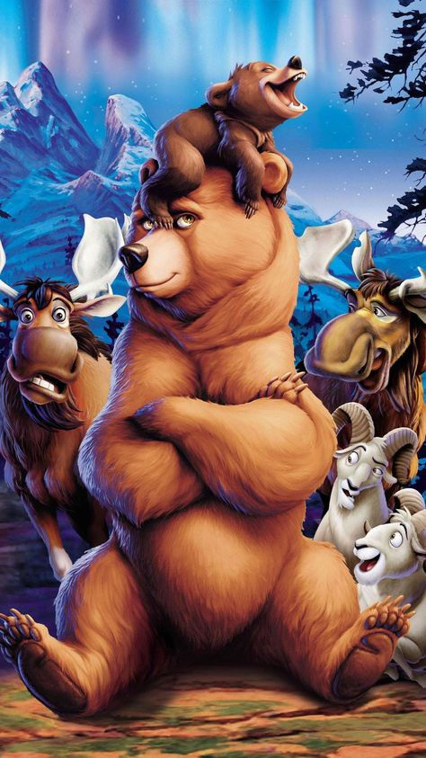 Brother Bear (2003) Phone Wallpaper | Moviemania