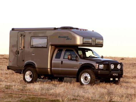 2005 Earthroamer Xv Lt Ford F 450 Supercab Lariat Pickup Camper