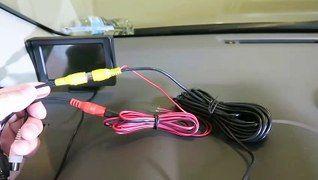 AUTO VOX CS-2 Digital Wireless Backup Camera Kit Stable Signal Rear View