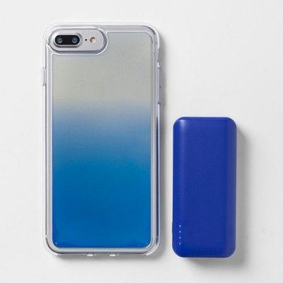 newest cc2c9 e6ec2 heyday Apple iPhone 8 Plus/7 Plus/6s Plus/6 Plus Case with Power ...