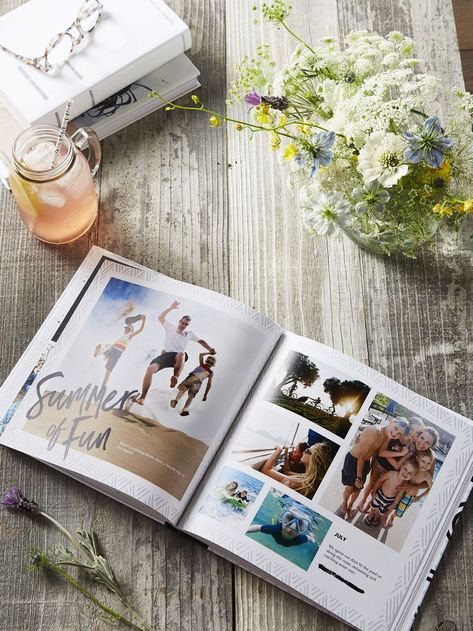 Turn your vacation into a personalized adventure. Create a travel photo book with more than 40 full-color pages. | Shutterfly