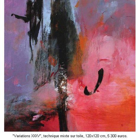 Anne Pourny Exposition Peintures Galerie D Artistes