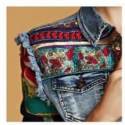 I do not like denim vests but could sew sleeves to one i like.