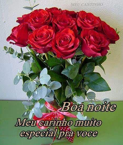 Pin De Alaide Neri Em Poesias Mensagem De Boa Noite Flores