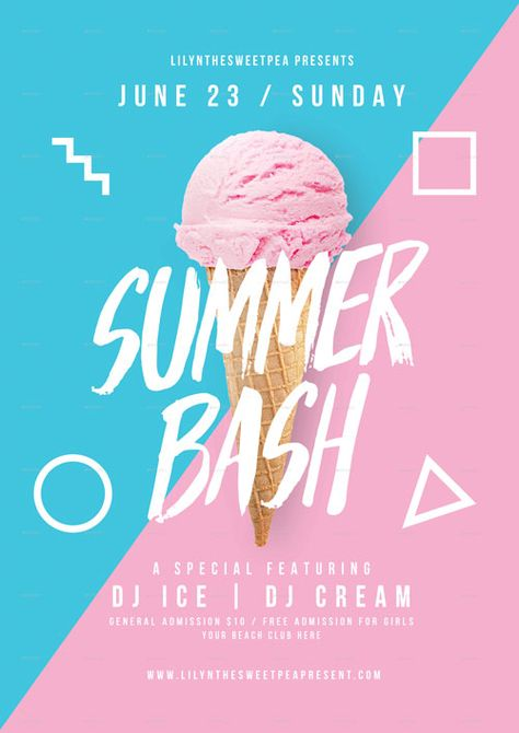 Summer Bash Flyer Template - Download the Best Club Flyers!