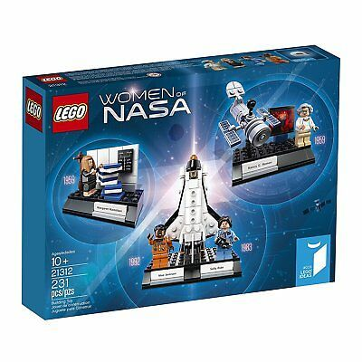 Female Astronaut Minifigure LEGO Science NASA STEM Space Rocket 21312 10213