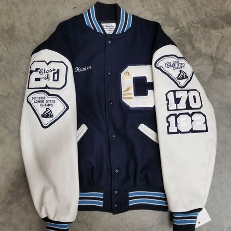 Letter Jackets at Todd & Moore - Todd & Moore Varsity Jacket High School, Varsity Jacket Outfit, Varsity Letterman Jackets, Cheer Outfits, Cute Casual Outfits, Retro Outfits, Senior Jackets, Mode Outfits, Fashion Outfits