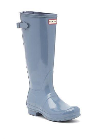 Hunter Adjustable Back Gloss Waterproof Rain Boot Nordstrom