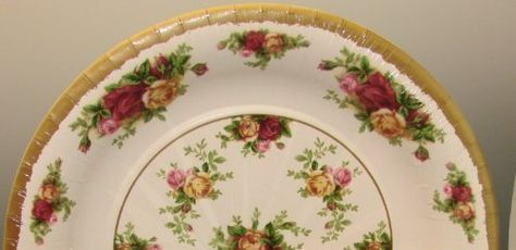 "ROYAL ALBERT OLD COUNTRY ROSE DINNER PLATE 10.25/"""