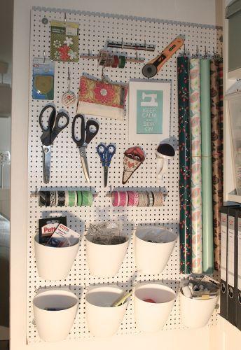 Ordnung Im Nahzimmer Organizing Your Sewing Room Ikea Kinderzimmer Basteln Organisation Bastelzimmer Organisieren