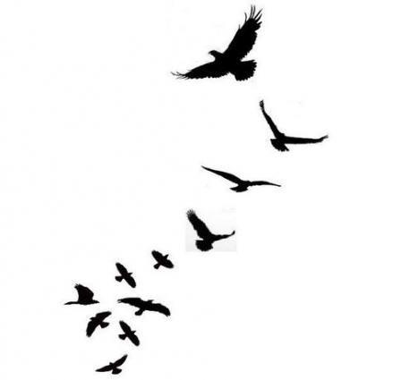 47 Ideas Tattoo Bird Flying Feather Tattoo Bird Silhouette Tattoos Bird Tattoo Men Silhouette Tattoos
