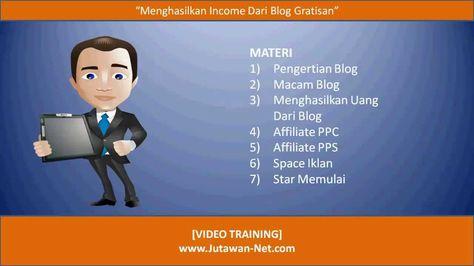 Cara Menghasilkan Uang dari Blog Tanpa Modal dengan Mudah