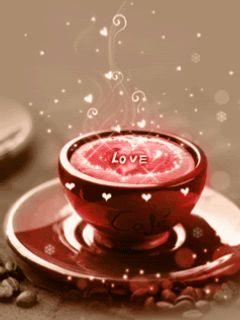 Coffee Love coffee good morning good morning greeting good morning gif