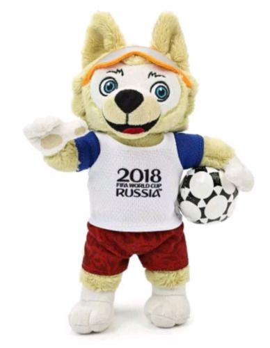 Zabivaka C 2018 Fifa World Cup Mascot Doll Kawaiil Toy 10 25 Cm New Fifa World Cup Plush Dolls