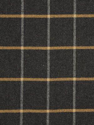 Gray Plaid Upholstery Fabric by greenapplefabrics on Etsy, $72.00