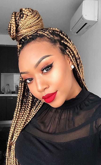Crochet Box Braids Hairstyles For Black Women Protective