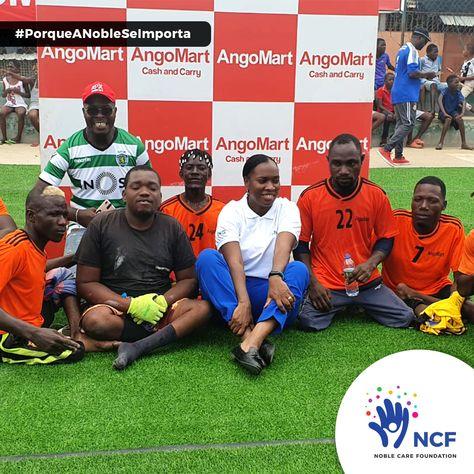 O torneio de futebol paralímpico organizado pela NCF