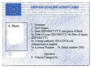Getting The Driver Cpc Card After You Have Qualified With Images