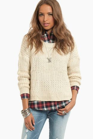 Perfect sweater for fall!