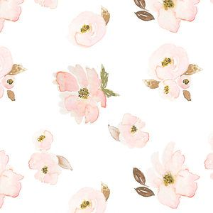 White Garden Floral Baby Bedding White Blush Crib Sheets Boppy Cover Blush Watercolor Boppy Cover Changing Pad Cover Spring Girl Sheets