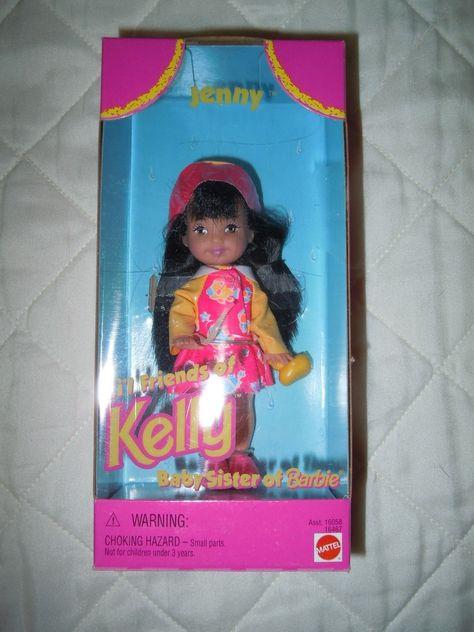 "Collectible ""Jenny"" Kelly Doll Barbie's Little Sister by Mattel 1996   eBay"