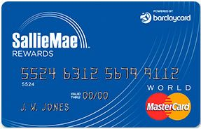 Review Of The Sallie Mae Mastercard Sallie Mae Credit Card
