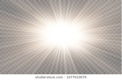 White Glowing Light Burst Explosion On Transparent Background Vector Illustration Light Effect Decoration With Ray Light Hidden Images Transparent Background