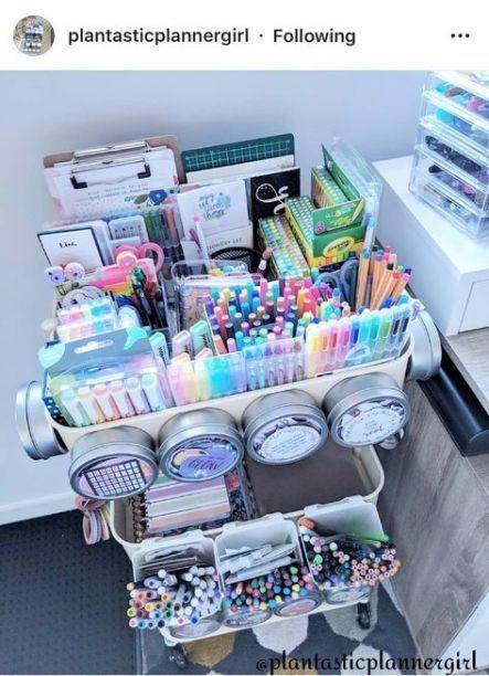 Craft Room Organization Storage Ikea Art Supplies 33 Ideas Art Artsupplies Art Organisation De L Artisanat Diy Déco Bureau Organisation Bureau