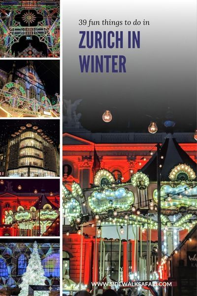 39 Things To Do In Zurich In Winter In 2020 Winter Travel Winter City Break Christmas Travel