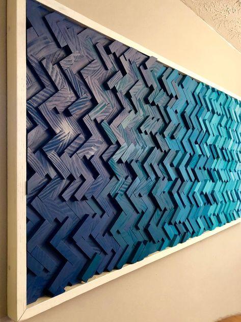 Wooden Art, Wood Wall Art, Thin Plywood, Bar Design, Karim Rashid, Herringbone Pattern, Diy Art, Wood Projects, Art Pieces