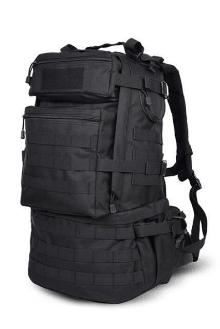 """New 17/"""" Black BACKPACK DAY PACK Bug Out Bag Survival Tactical Military Emergency"""