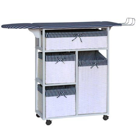 Gallerie Decor All In One Laundry Table Walmart Com Laundry Table Laundry Center Decor