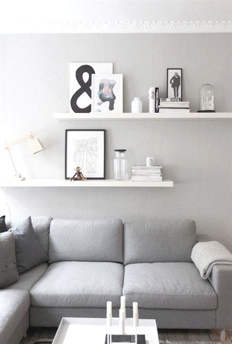 Fireplace Mantel Decor Living Room Shelves Living Room Grey