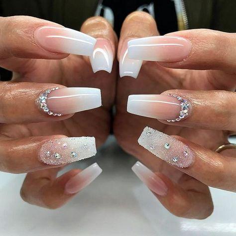 25 fantastic white sarong nails - bright and intriguing designs   #bright #designs #fantastic #intriguing #nails